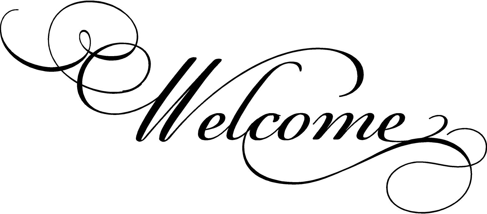 Free Welcome Black And White Clipart, Download Free Clip Art.