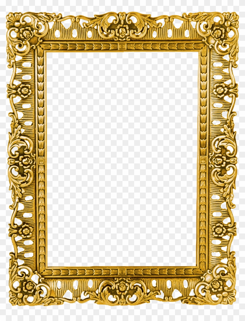 Clipart Ornate Frame 40 Version.