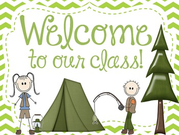 Camping Theme Open House Worksheets & Teaching Resources.