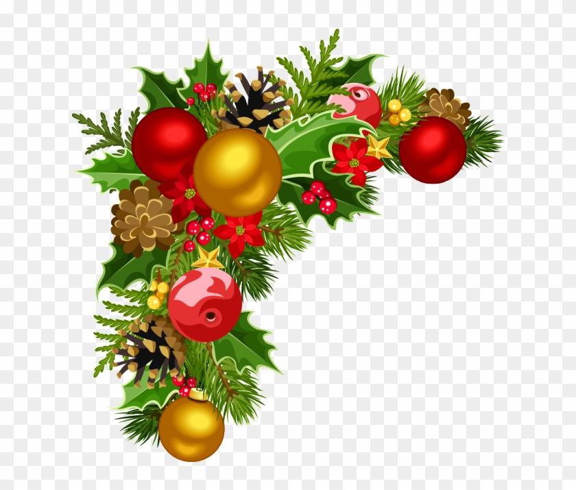 Christmas Decorating Border Png.