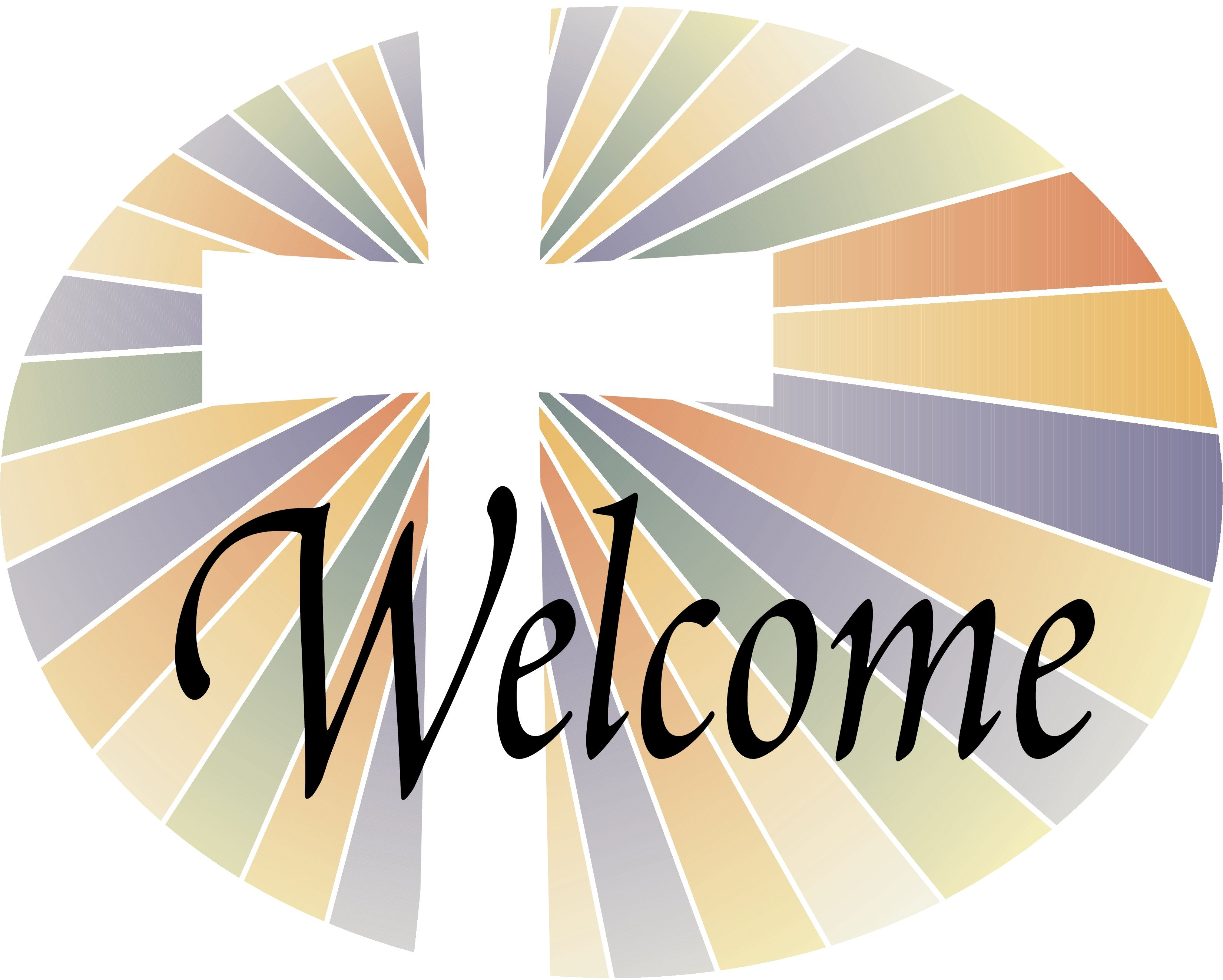 Free Christian Welcome Clipart.