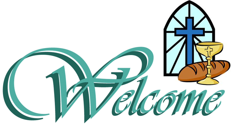 Church Welcome Clipart.