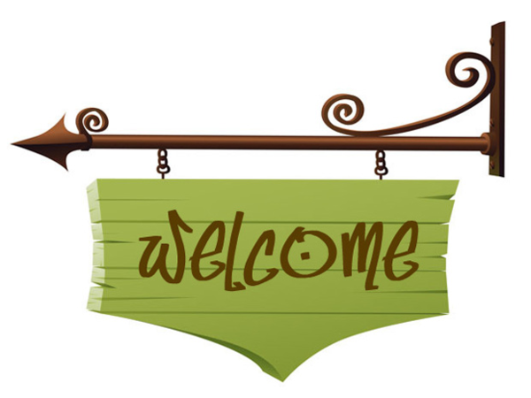 Welcome clipart free images 4.