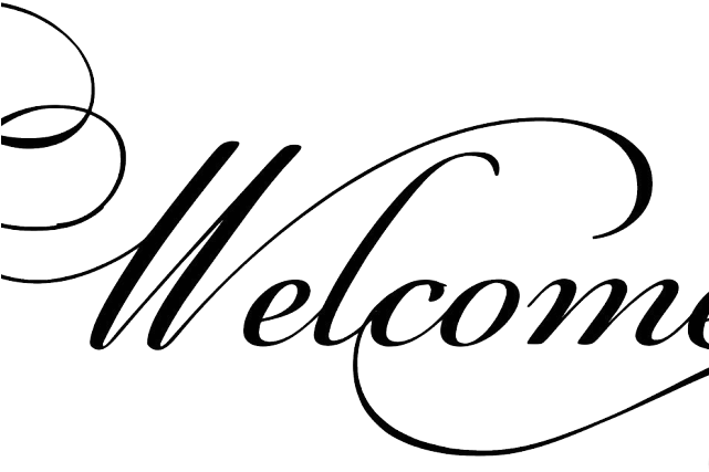 Welcome Clipart Black And White.