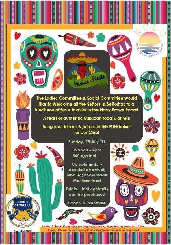North Cronulla SLSC Mexican Fiesta Fundraiser.