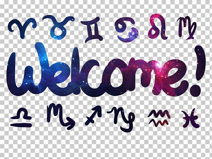 Logo Brand Millennials Font, welcome signboard PNG clipart.