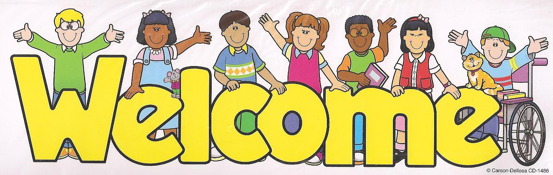 Welcome Clipart For Kids.