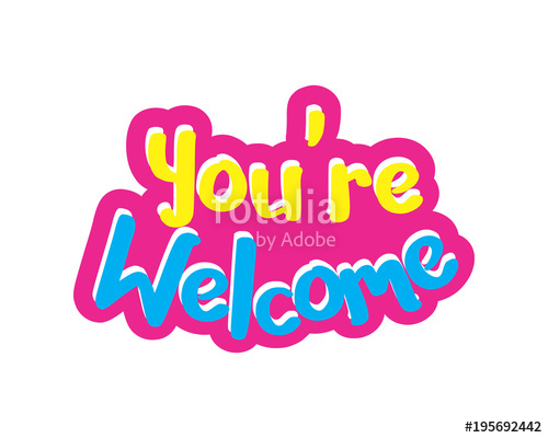 You Re Welcome Clipart Free Download Clip Art.