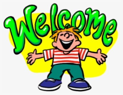 Free Welcome To Church Clip Art with No Background.