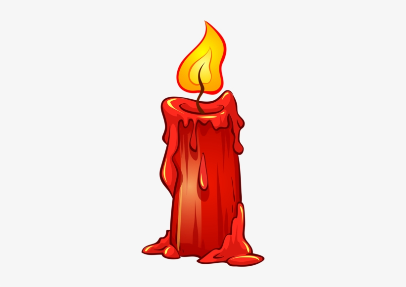 Candles Clipart Red Candle.