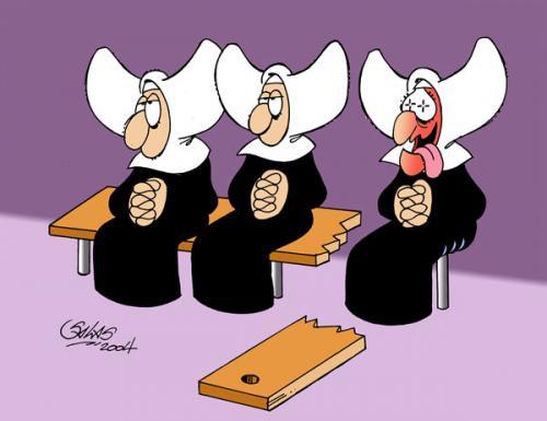 Nuns By Salas.