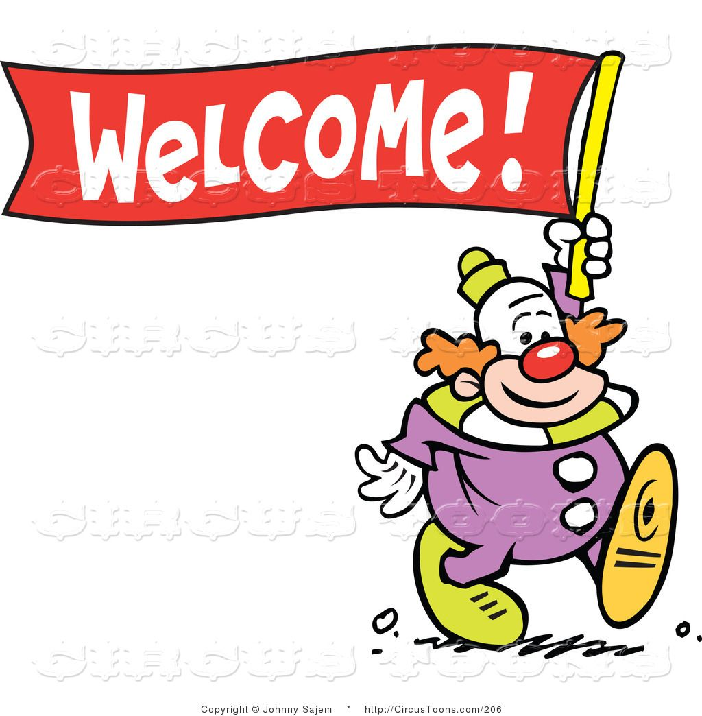 Welcome Clipart clip art.