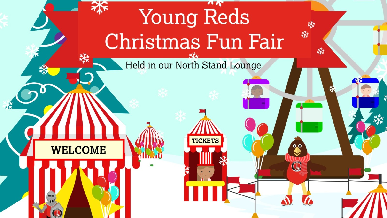 Last chance to book your place at the Young Reds Christmas.