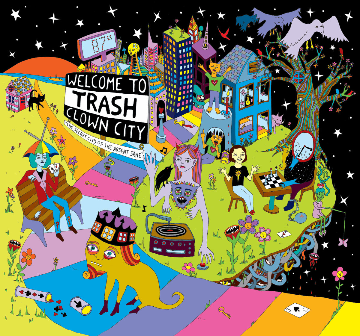 Welcome To Trash Clown City.
