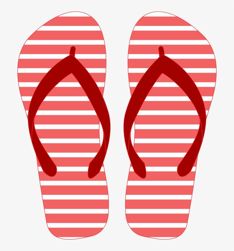 Summer Flip Flops Clip Art PNG Image.