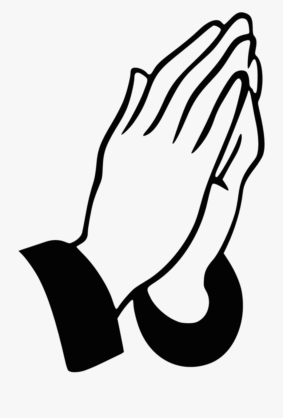 Pray Vector Welcome Hand.