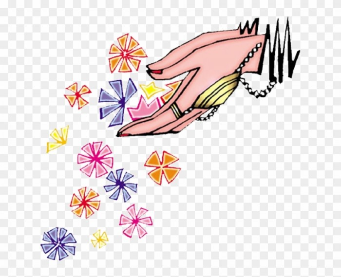 Indian Wedding Clipart Colour Png Welcome Hands With Flowers Detail.