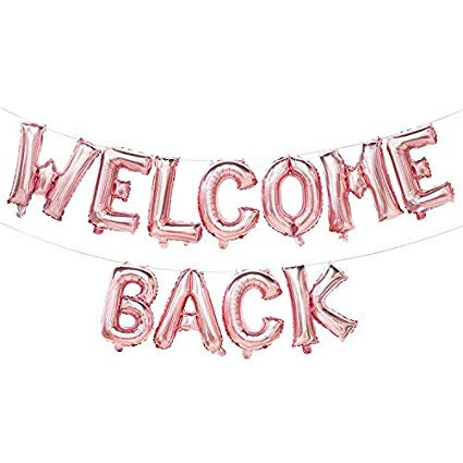 welcome back banner clipart #7