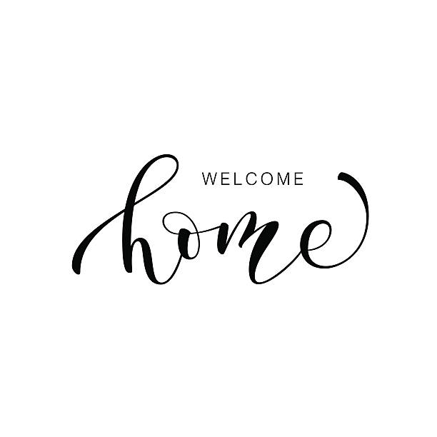 Best Welcome Home Illustrations, Royalty.