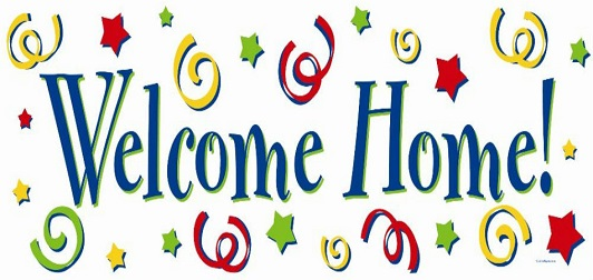 Free Welcome Home Clipart.
