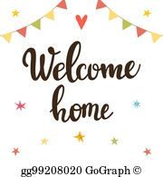 Welcome Home Clip Art.
