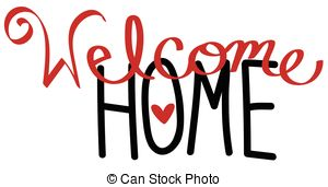 Welcome home Vector Clipart Royalty Free. 3,291 Welcome home clip.