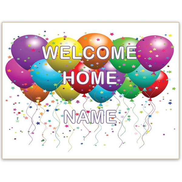 Download welcome home clipart.