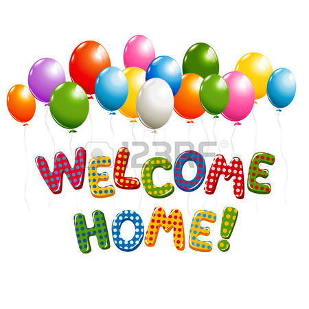 Welcome Home Clipart Images.
