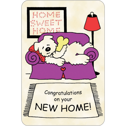 Congratulations On Your New Home !!.