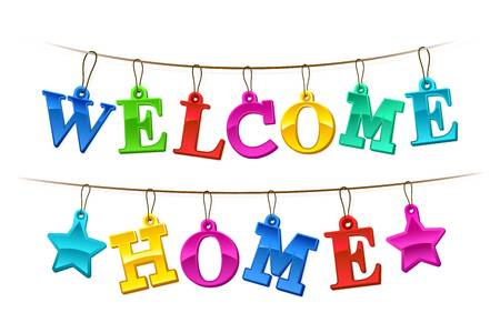 121 Welcome Home free clipart.