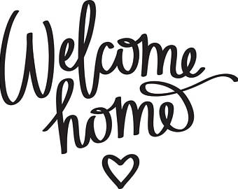 Welcome Home Clipart.