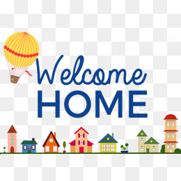 Free Welcome Home Png & Free Welcome Home.png Transparent Images.