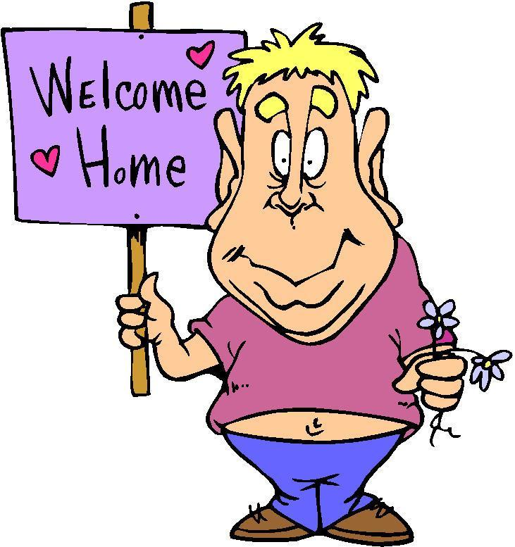 Sign Welcome Home Clipart.