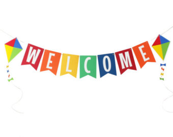 7340 Welcome free clipart.