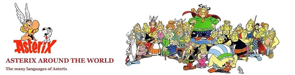 Asterix around the World.