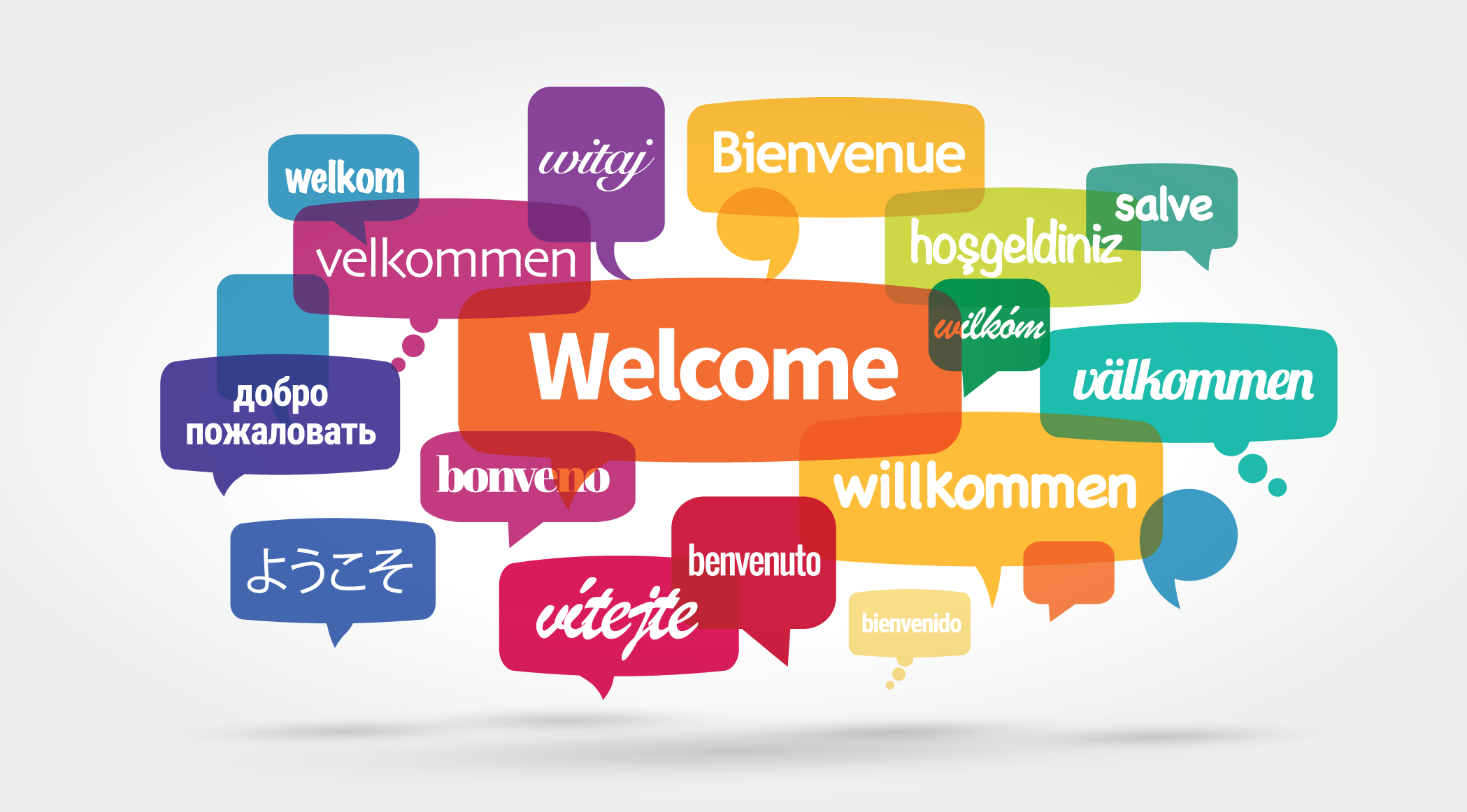 welcome in every language.
