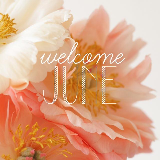Welcome June 3.
