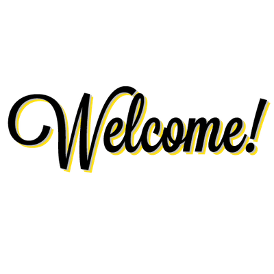 Welcome transparent PNG images.