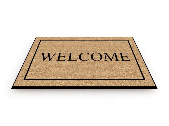 Free Welcome Mat Clipart Image.