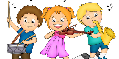 School Music Clipart.