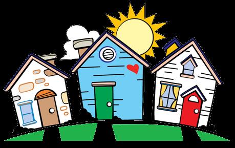 Neighborhood clipart household, Neighborhood household.