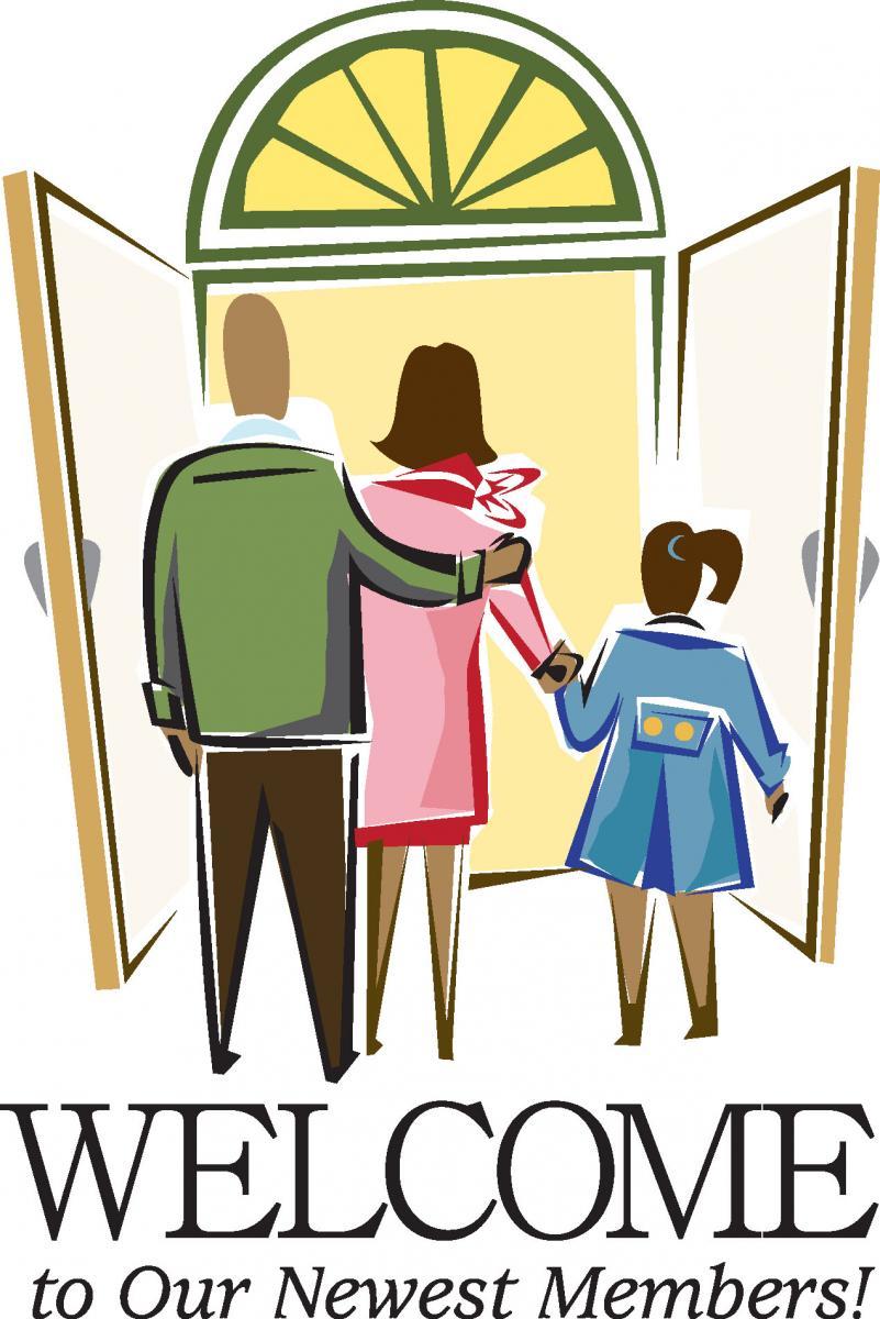 Welcome New Church Members Clip Art N4 free image.