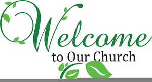 Welcome New Pastor Clipart.