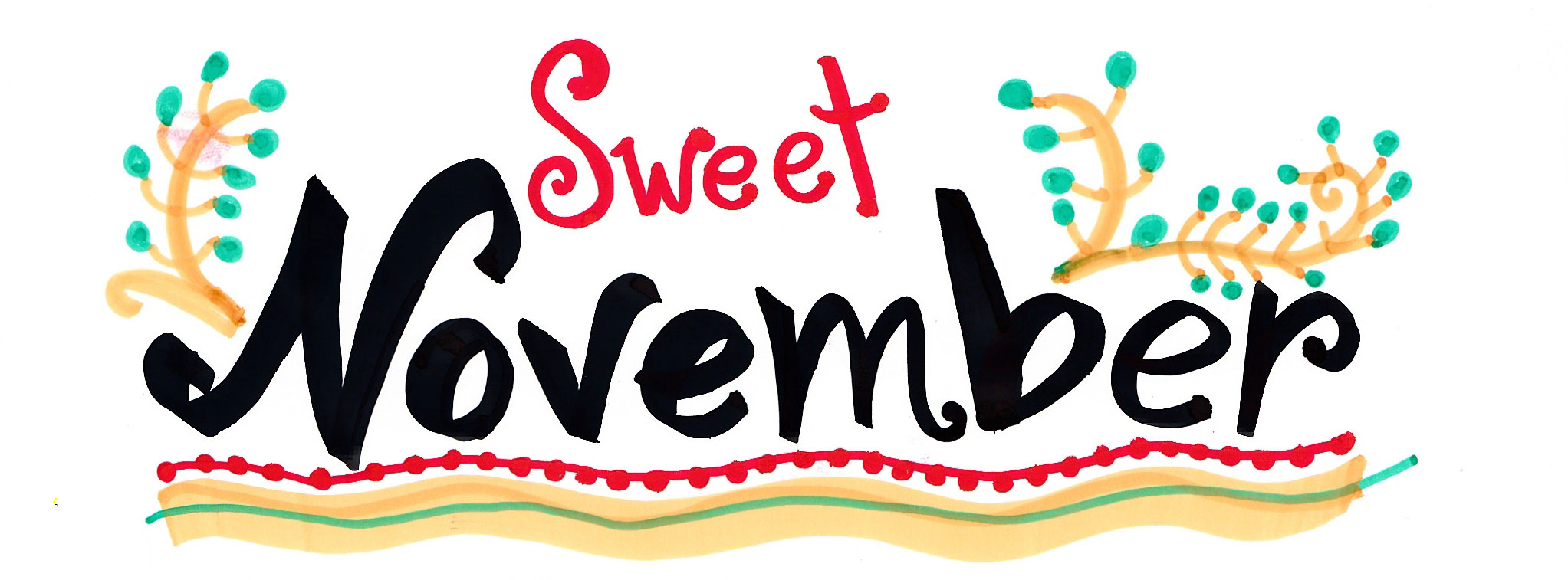 Welcome November Photo.