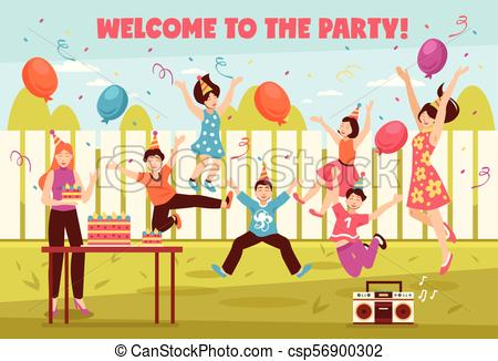 Welcome party clipart 7 » Clipart Station.