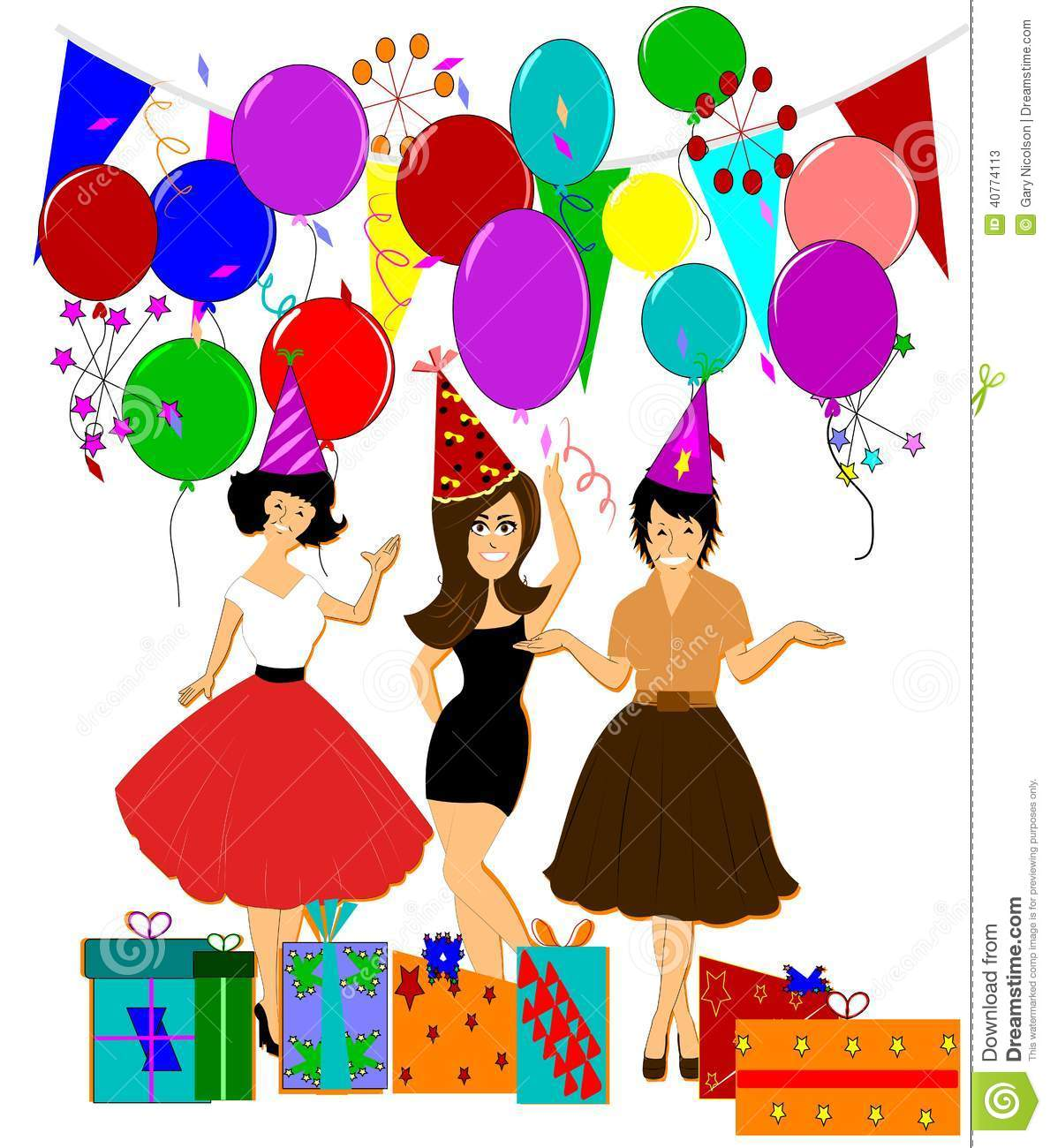 Welcome party clipart 2 » Clipart Station.