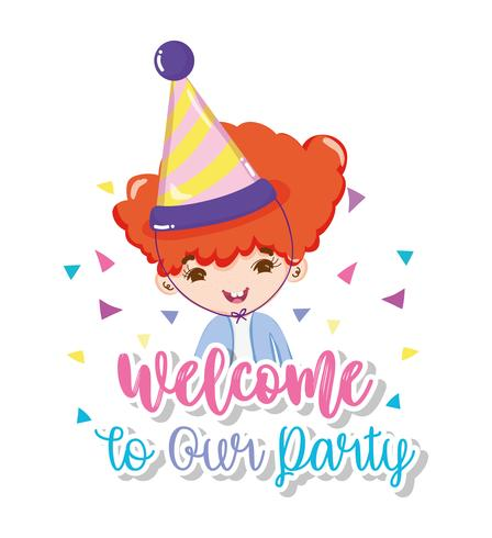 Welcome to our party.