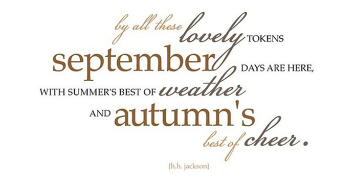 Hello September Images, Quotes, Flowers, Photos, Clipart For.