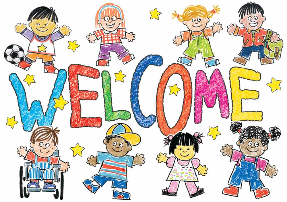 Kids Welcome Clipart.