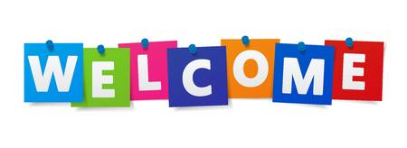 66,576 Welcome Sign Stock Illustrations, Cliparts And Royalty Free.